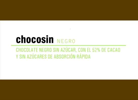 chocosin negra 50%