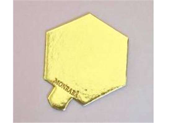 format hexagonal 85x75 mm amb pestanya
